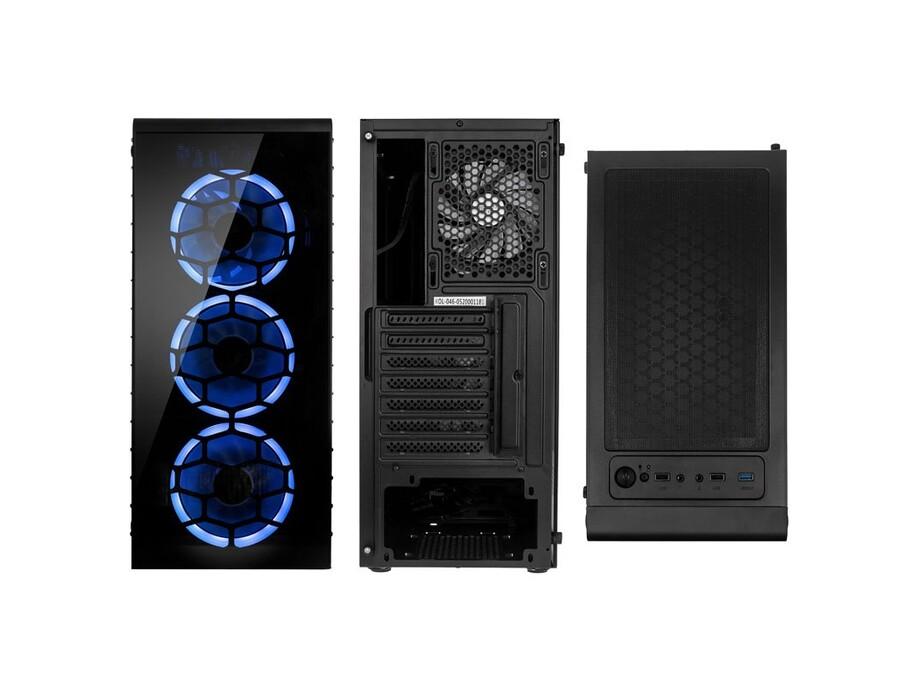 Dators Capital NEO X Steel /i5-10400F/16GB/GTX1660S/500GB/650W/no_OS 1
