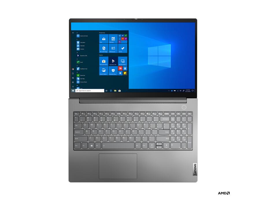 """Portatīvais dators LENOVO THINKBOOK 15/15.6"""" FHD/R5-4600U/8 GB/256GB SSD/W10P/1YR/ ENG 6"""