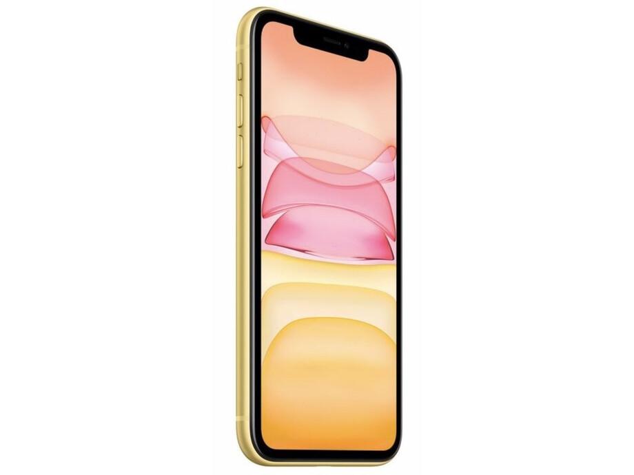 Apple iPhone 11 64GB Yellow (dzeltens) 1