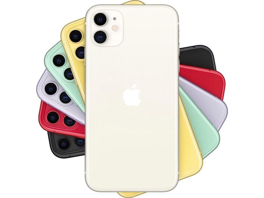 Apple iPhone 11 128GB White (balts) 2