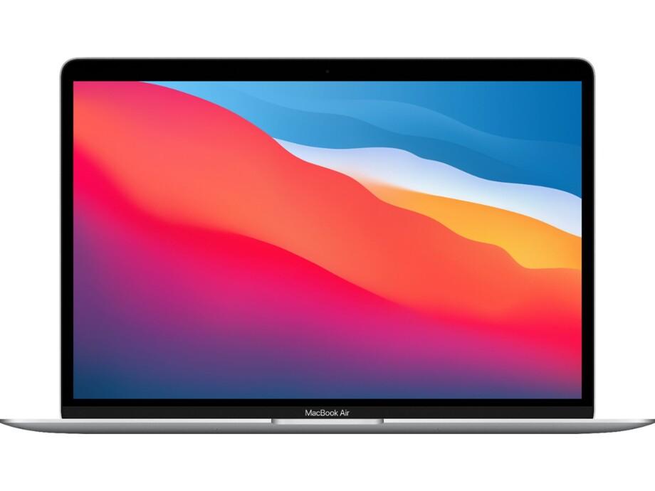 """MacBook Air 13"""" Apple M1 8C CPU, 7C GPU/8GB/256GB SSD/Silver/RUS 2020 0"""