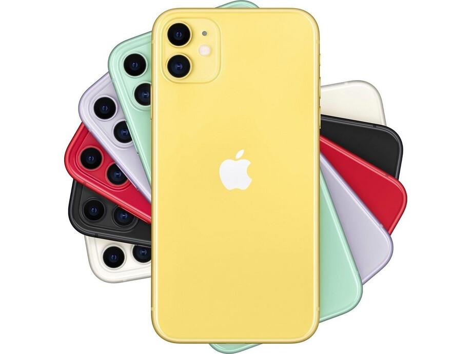 Apple iPhone 11 64GB Yellow (dzeltens) 3
