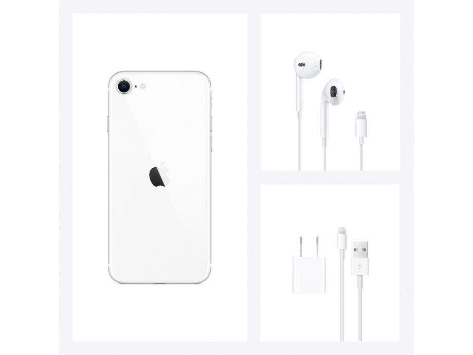 iPhone SE 256GB White 3