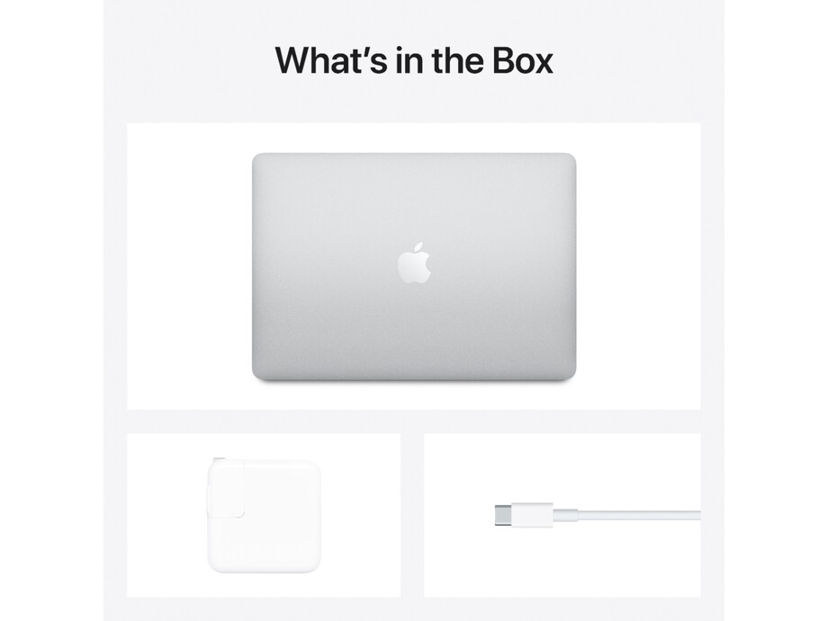 """MacBook Air 13"""" Apple M1 8C CPU, 8C GPU/8GB/512GB SSD/Silver/RUS 2020 5"""