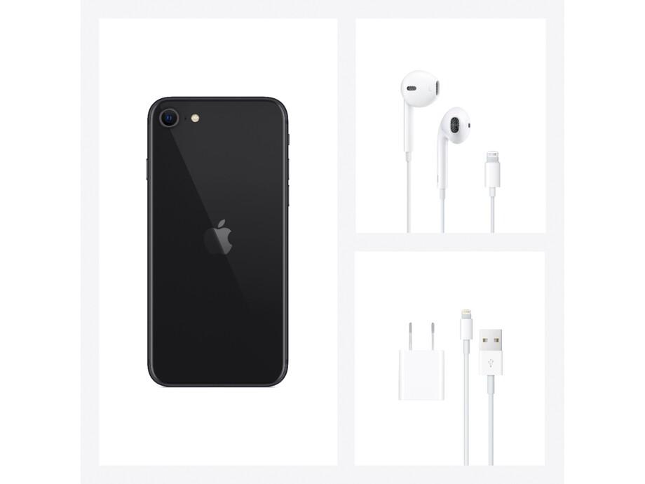 iPhone SE 64GB Black 4