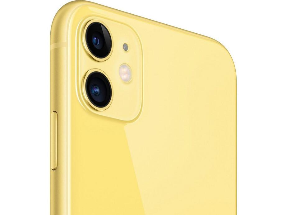 Apple iPhone 11 64GB Yellow (dzeltens) 2