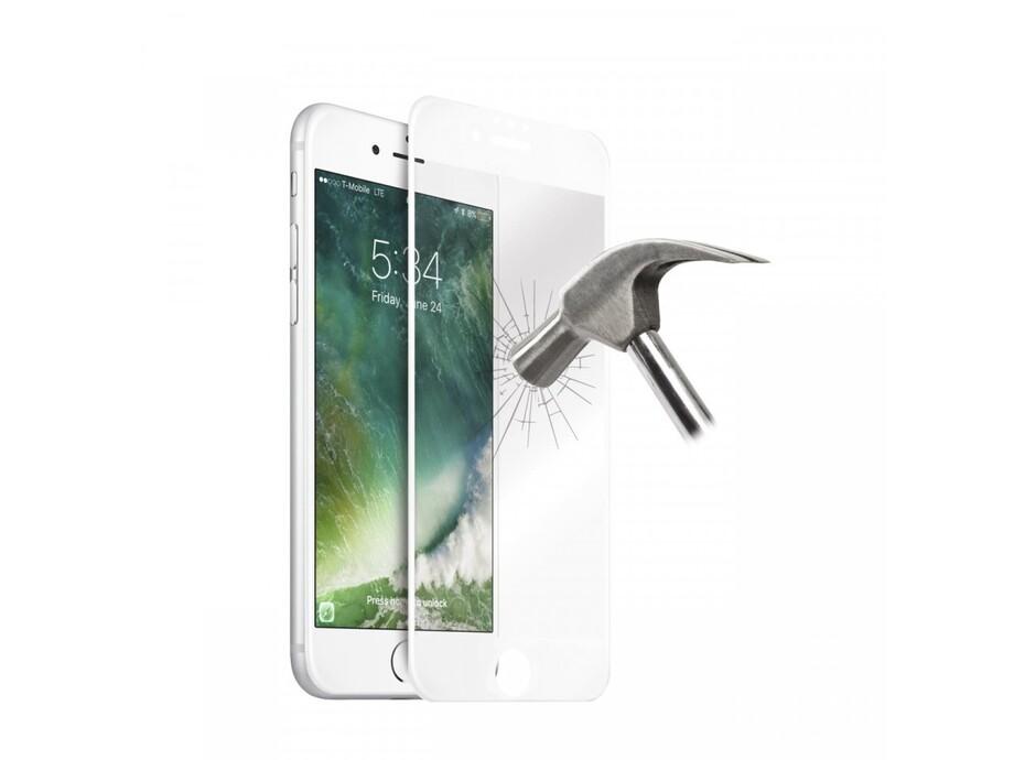 Aizsargstikls Apple iPhone 6/6S Full White (Pro) 0