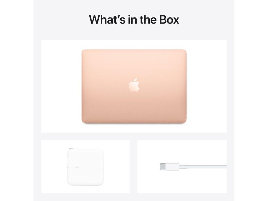 """MacBook Air 13"""" Apple M1 8C CPU, 7C GPU/8GB/256GB SSD/Gold/INT 2020. 5"""