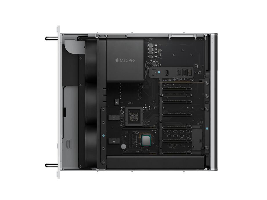 MacPro Rack 3.5GHz 8-core Intel Xeon W/32GB/580X/256GBSSD/Rack rails/MM2+MK/INT 1