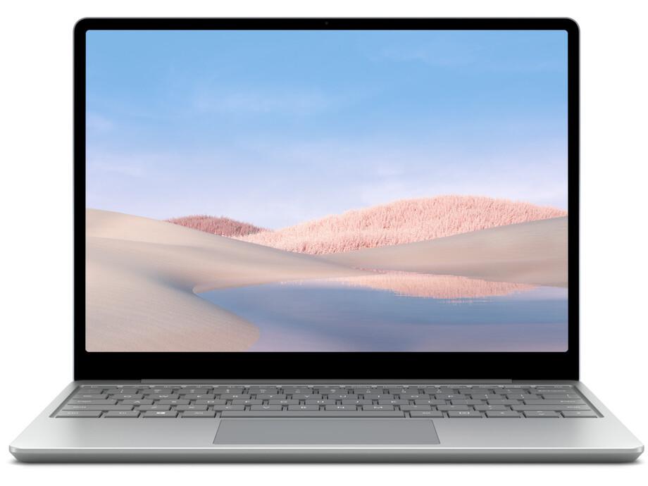 "Portatīvais dators Microsoft Surface Laptop Go 12"" i5-1035G1/8GB/128GB W10P INT Platinum 0"