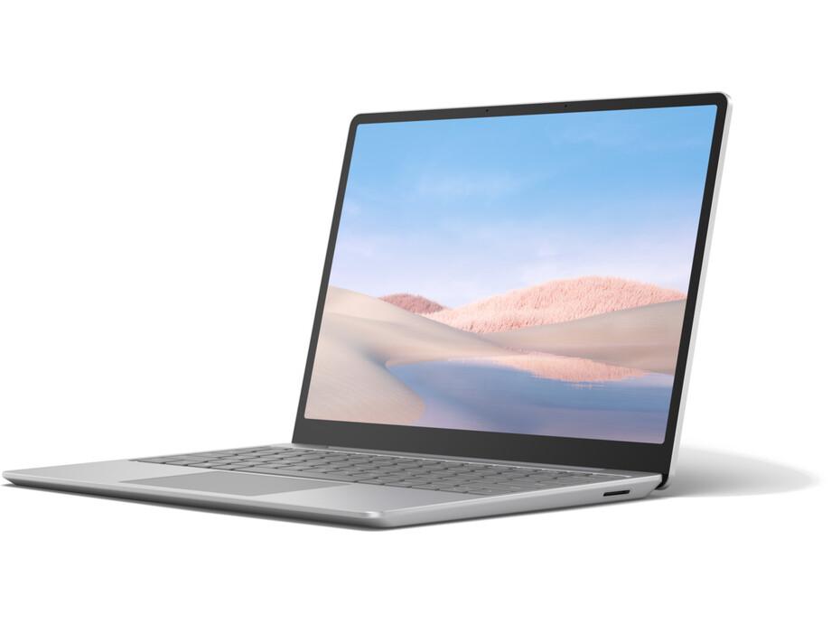 "Portatīvais dators Microsoft Surface Laptop Go 12"" i5-1035G1/8GB/128GB W10P INT Platinum 1"