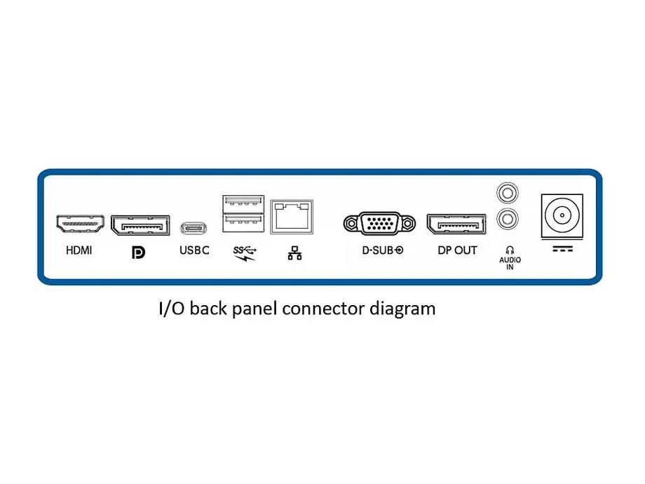 "Monitors Philips 241B7QUPBEB/00 24"" USB-C 4"