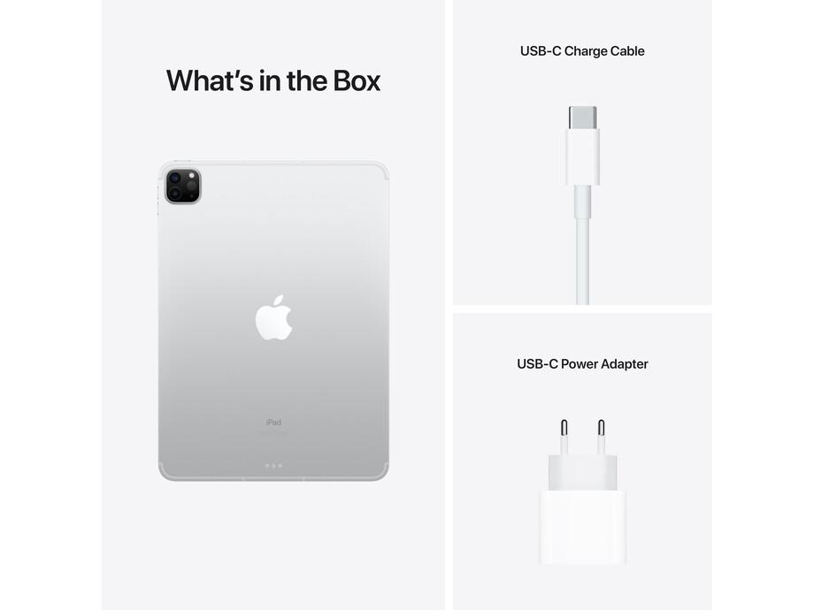 "iPad Pro 11"" Wi-Fi + Cellular 128GB - Silver 3rd Gen 2021 3"