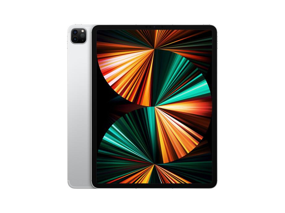 "iPad Pro 12.9"" Wi-Fi + Cellular 256GB - Silver 5th Gen 2021 0"