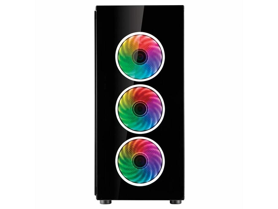 Korpuss Fortron CMT510 PLUS Glass ATX 4 RGB FAN POC0000070 1