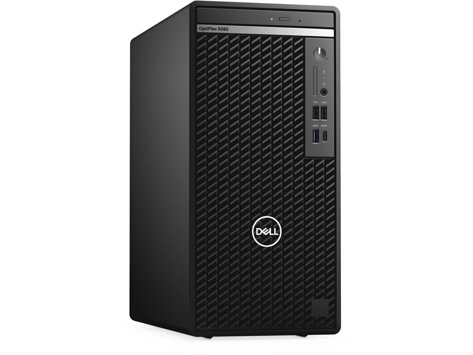 Dators Dell OptiPlex 5080 MT/i5-10500/8GB/256GB NVMe SSD/DVDRW/Intel HD/ENG/Win10 Pro/3Yr 0