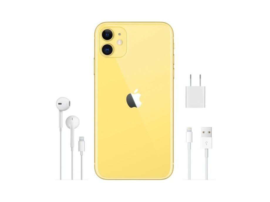 Apple iPhone 11 256GB Yellow (dzeltens) 5