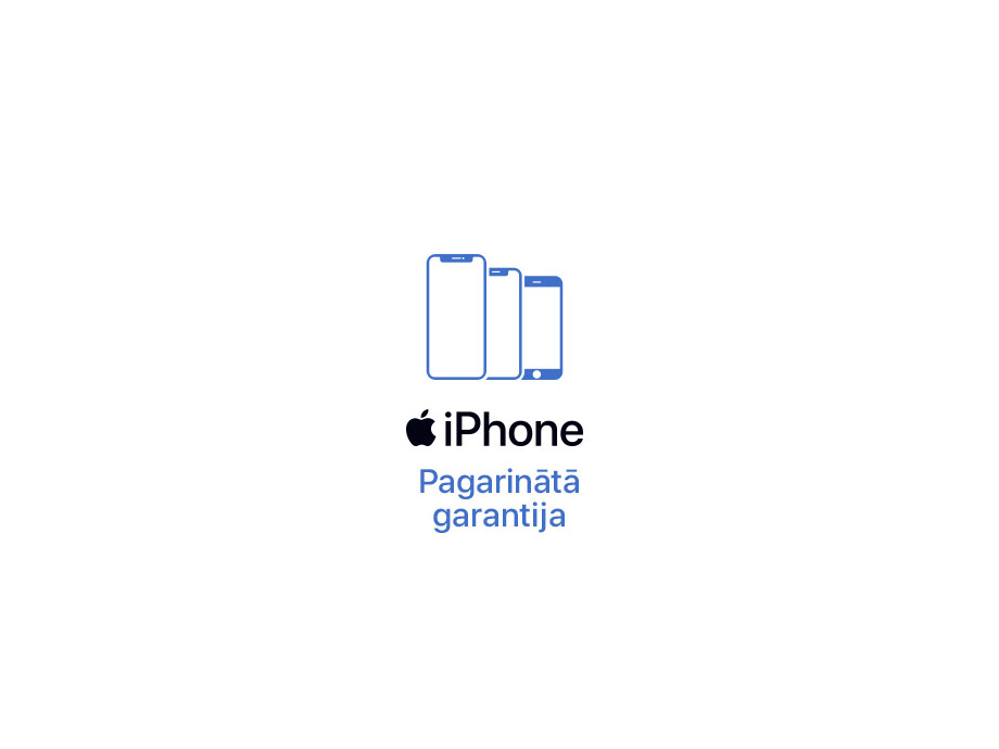 iPhone XR pagarinātā +2 gadu garantija (1+2) 0