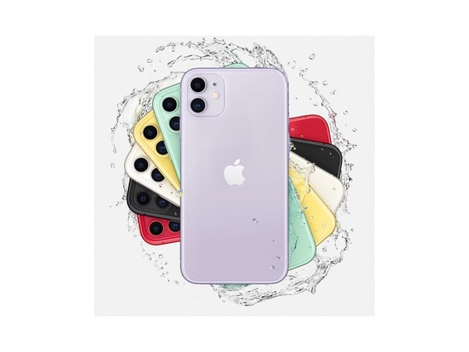 Apple iPhone 11 256GB Yellow (dzeltens) 4