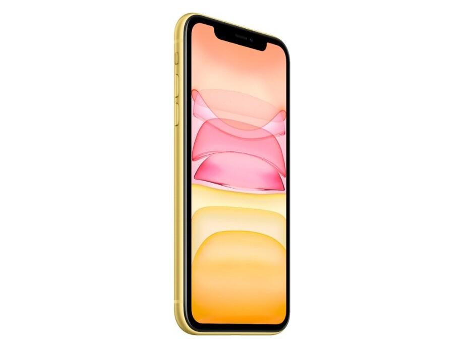 Apple iPhone 11 256GB Yellow (dzeltens) 1