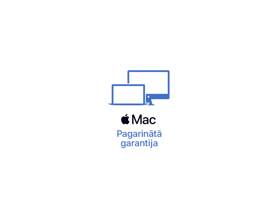 Macbook Pro 13'' pagarinātā +1 gada garantija (1+1) 0
