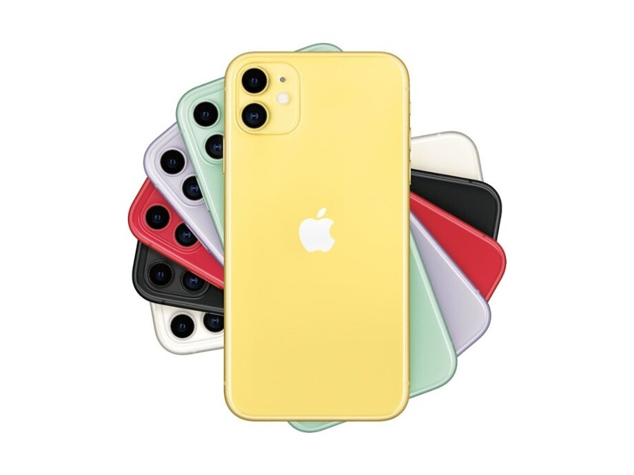 Apple iPhone 11 256GB Yellow (dzeltens) 3