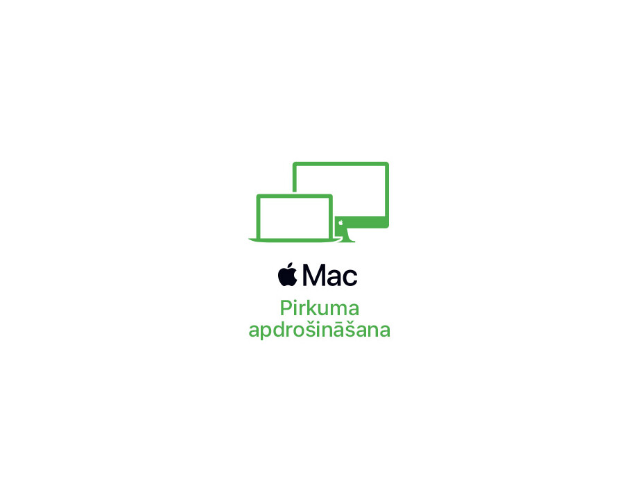 MacBook Pro 13'' apdrošināšana uz 48 mēnešiem (pašrisks 50 eur) 0