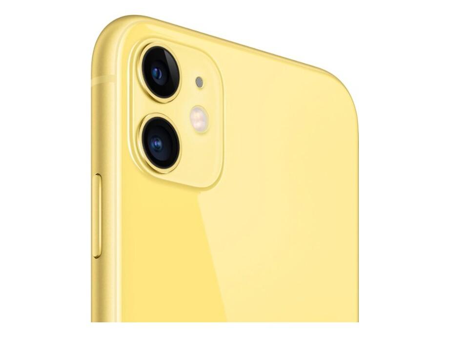 Apple iPhone 11 256GB Yellow (dzeltens) 2