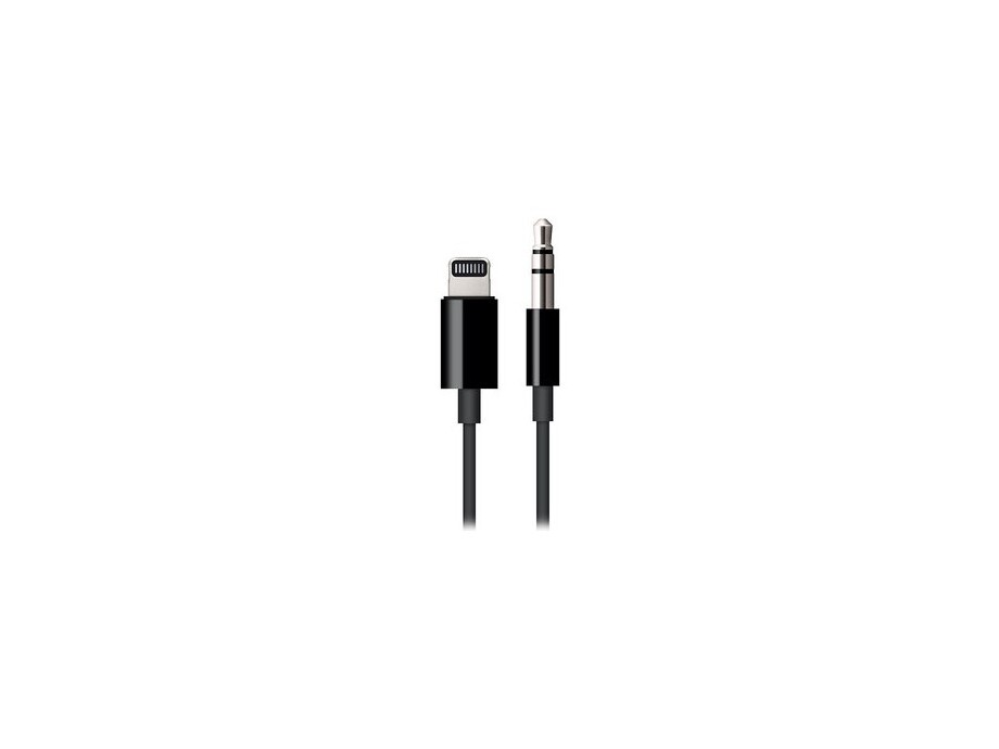 Lightning to 3.5mm Audio Cable Black 0
