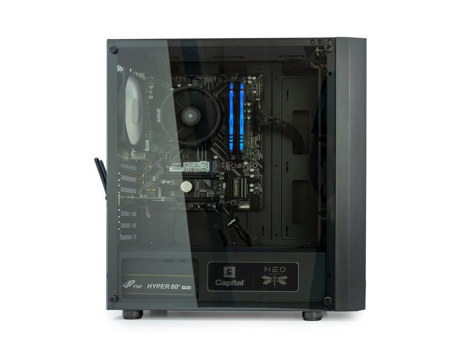 Dators Capital NEO X Study&Play /R3-4300GE/16GB/Vega6/500GB/650W/WF/BT/Win10 5