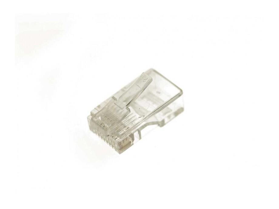 Konektors RJ45, CAT-5e, UTP, daudzšķiedru/monolītām dzīslām 0
