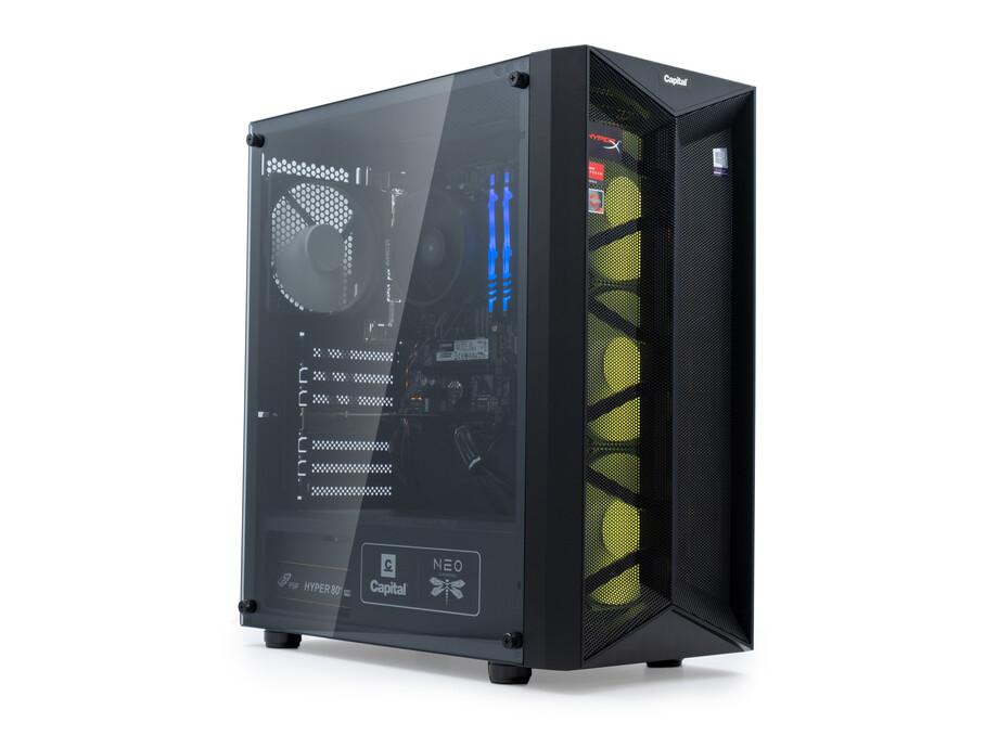 Dators Capital NEO X Study&Play /R3-4300GE/16GB/Vega6/500GB/650W/WF/BT/Win10 3