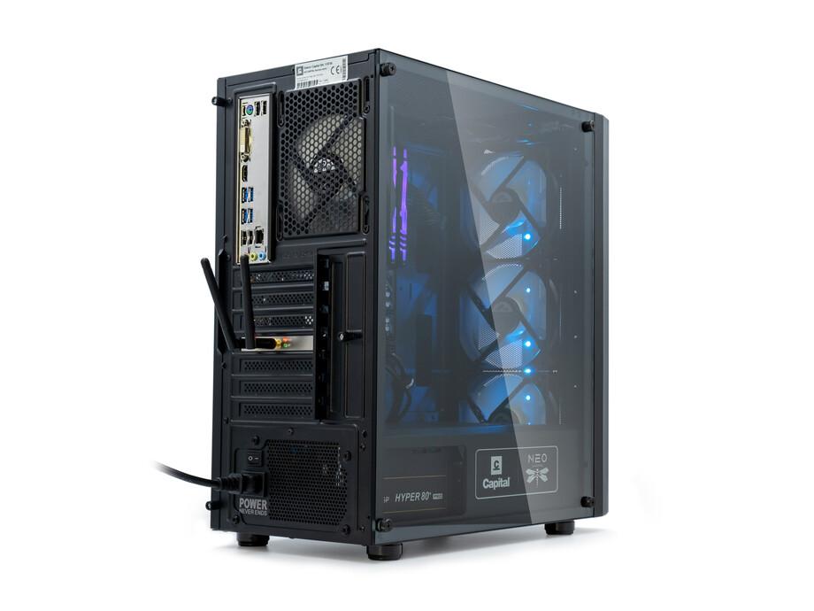 Dators Capital NEO X Study&Play /R3-4300GE/16GB/Vega6/500GB/650W/WF/BT/Win10 1