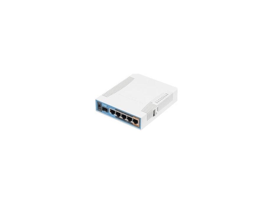 Bezvadu maršrutētājs MikroTik hAP ac RB962UiGS-5HacT2HnT Wireless Router (rūteris) 0