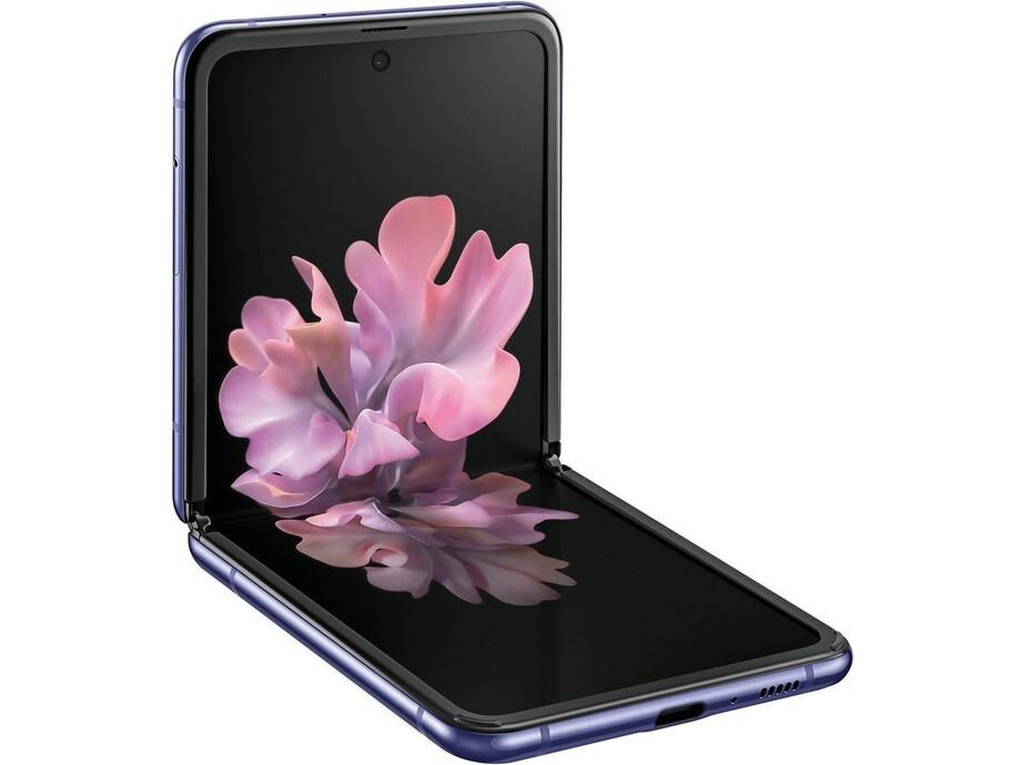 Mobīlais telefons SAMSUNG Galaxy Z Flip 256GB Mirrow Purple 0
