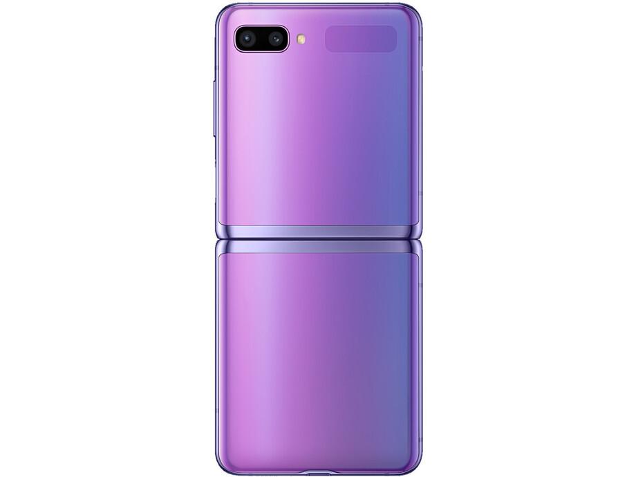 Mobīlais telefons SAMSUNG Galaxy Z Flip 256GB Mirrow Purple 3