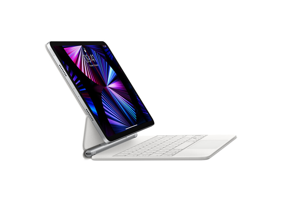 Magic Keyboard for iPad Air (4th generation)   11-inch iPad Pro (1st, 2nd and 3rd gen) - RUS White 0