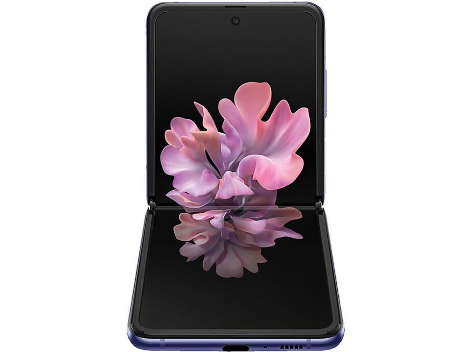 Mobīlais telefons SAMSUNG Galaxy Z Flip 256GB Mirrow Purple 1
