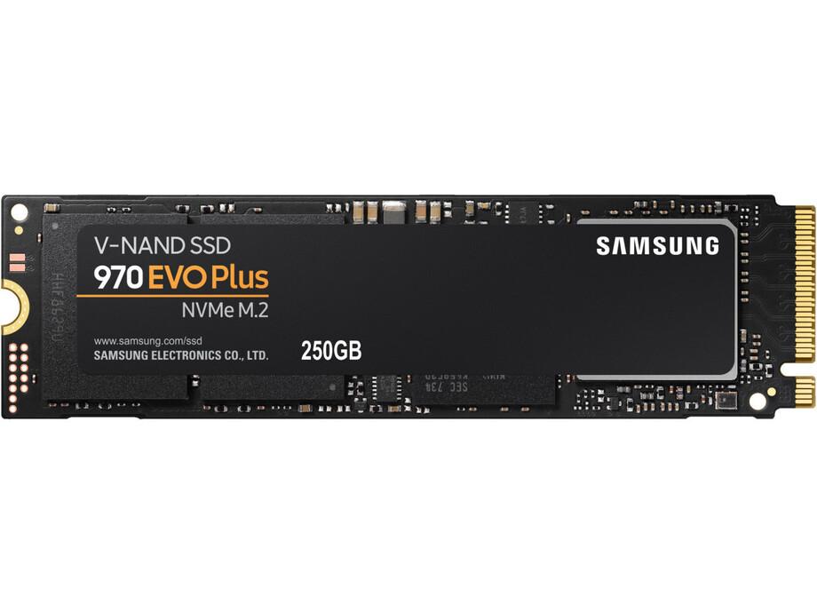 SSD 250GB - Samsung 970 EVO Plus NVMe M.2 PCIe R/W 3500/2300MB/s 0