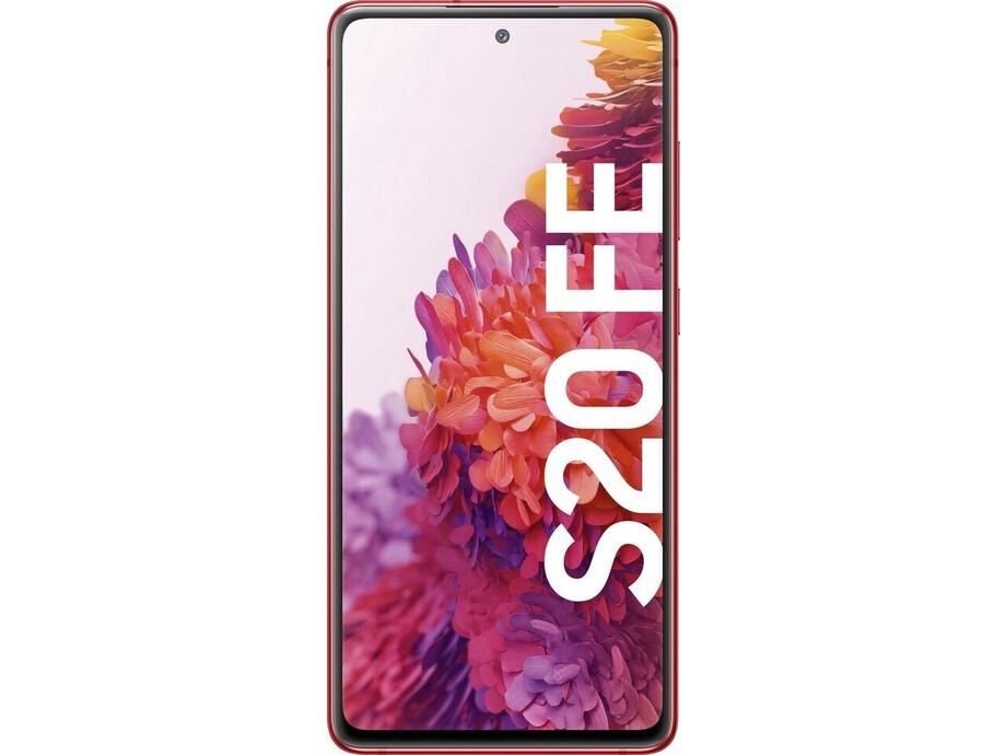 Viedtālrunis Samsung Galaxy S20 FE Cloud Red 1