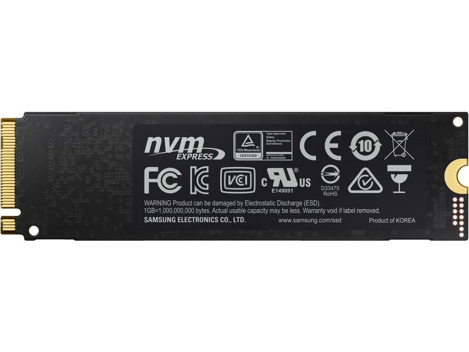 SSD 250GB - Samsung 970 EVO Plus NVMe M.2 PCIe R/W 3500/2300MB/s 1
