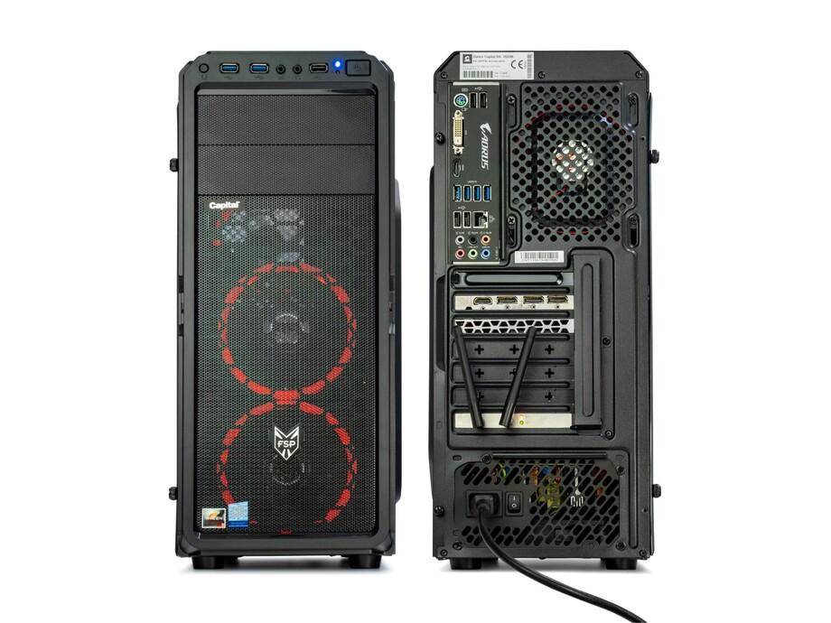 Dators Capital NEO X Dragoon /R3-3200G/8GB/Vega8/250GB/450W/no_OS 3