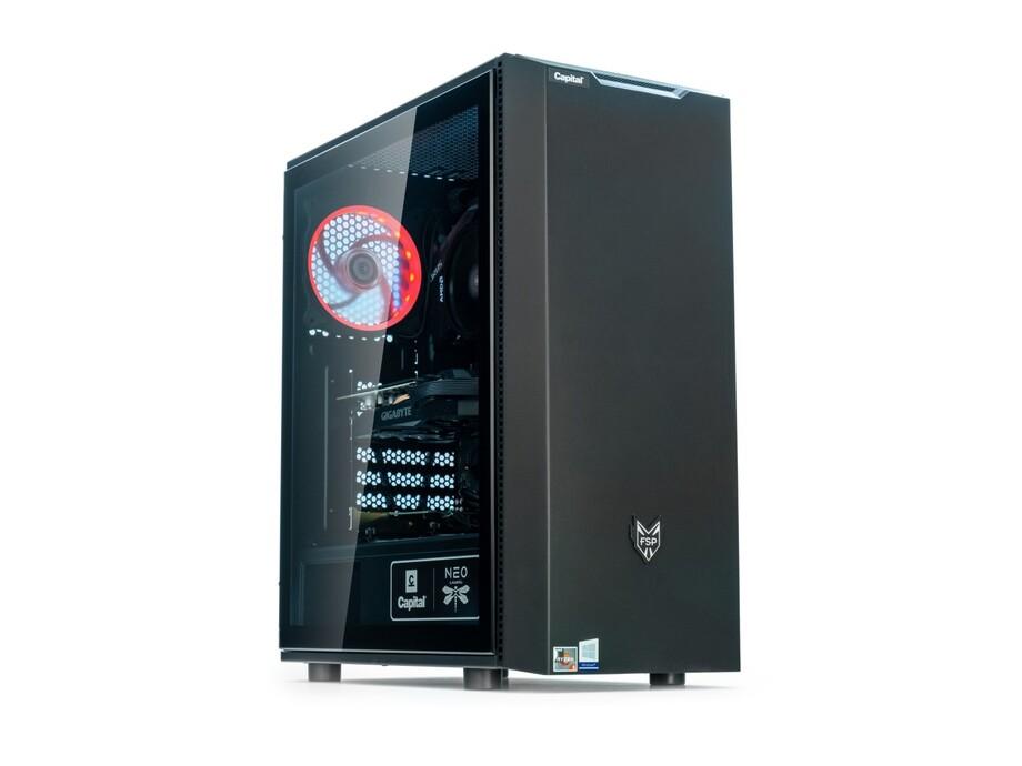 Dators Capital NEO X Apollo /R5-3600X/16GB/RTX3070Ti/500GB/650W/Win10Home 1