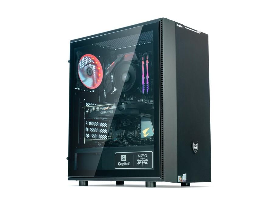 Dators Capital NEO X Apollo /R5-3600X/16GB/RTX3070Ti/500GB/650W/Win10Home 0