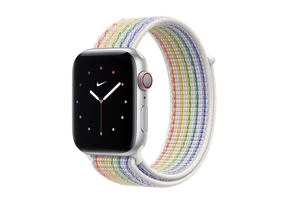 Siksniņa Apple Watch 44mm Pride Edition Nike Sport Loop 2