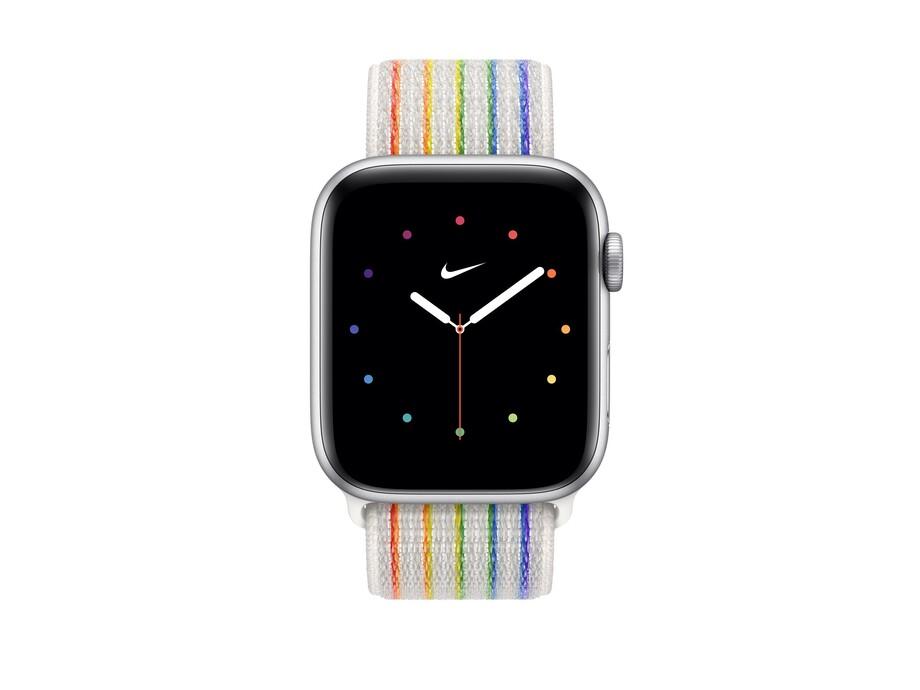 Siksniņa Apple Watch 44mm Pride Edition Nike Sport Loop 1